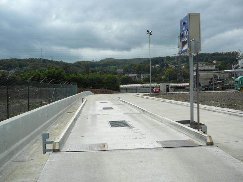 Weighing bridges - Trucks - Above-ground concrete modular