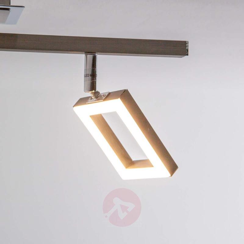 Sleek Lovisa LED ceiling light, 2-bulb - Ceiling Lights