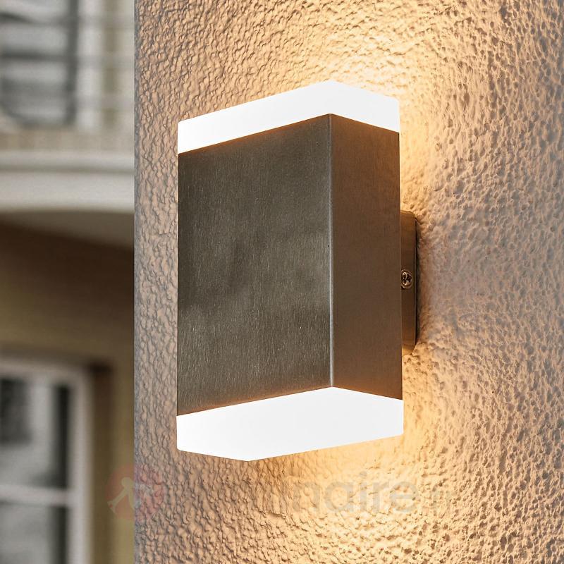 Applique LED rectangulaire Aya pour l'extérieur - Appliques d'extérieur LED