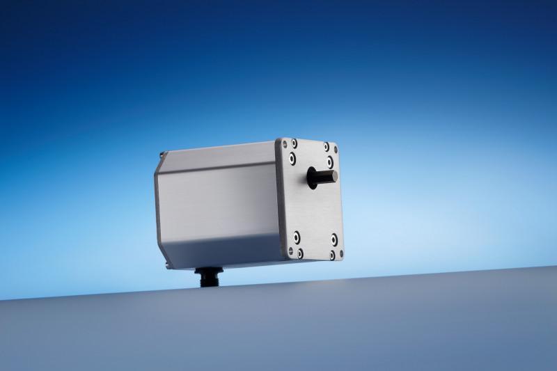Réducteur planétaire N 72 - Engrenage cylindrique (et moteur) logés dans un boîtier aluminium, 5 Nm max.