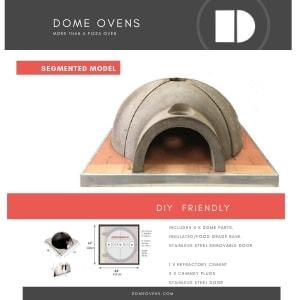 Segmented Model  - DIY pizza oven KIT