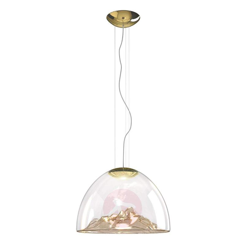 Great LED designer hanging light Mountain View - Pendant Lighting
