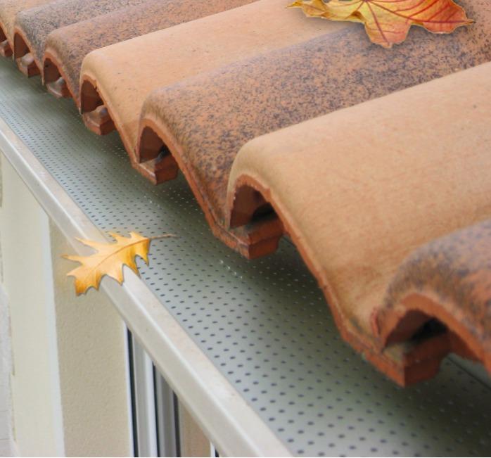 Pare-feuilles Fixatech (T-Rex) - Le protège gouttière indispensable pour vos gouttières neuves