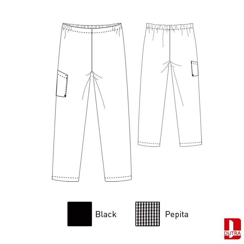 Pantalon de cuisinier élastique - DIMOPO COOK