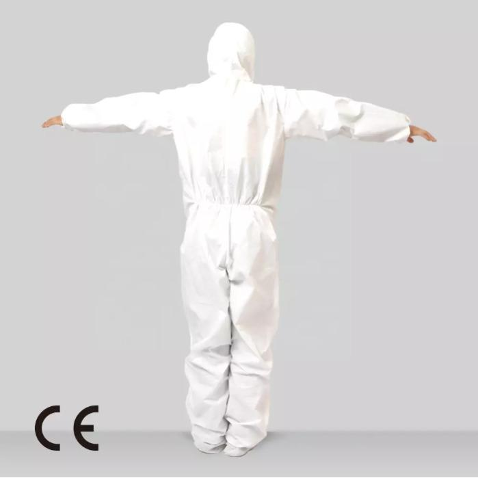 Surgical Overall type 3 4 5 6 - Type 3  4  Overalls , Disposable Microporous Coveralls EN 14126