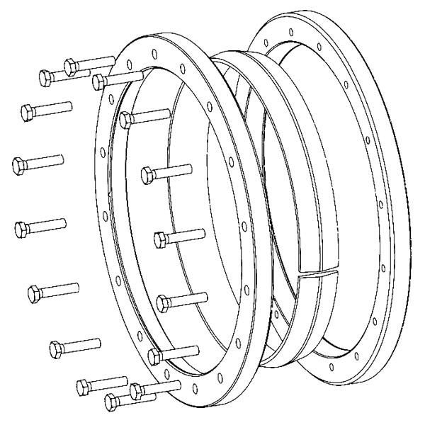 TAS-3073 Mini-Range - Shrink Discs 3-part