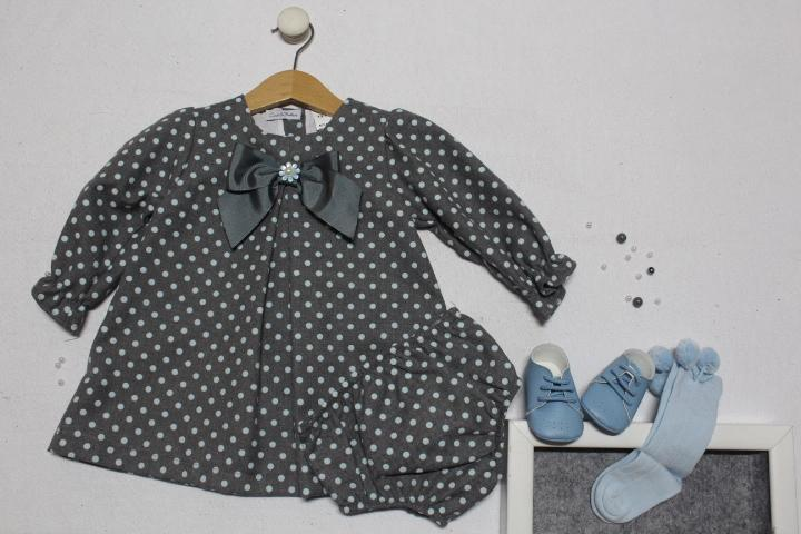 Vestido cinza