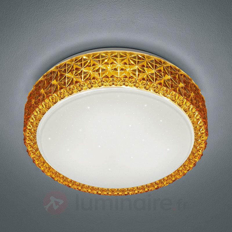 Plafonnier LED scintillant Dela - Plafonniers LED