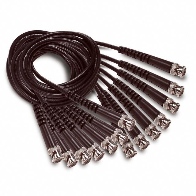 KIT BNC COAXIAL TEST LEADS 7PCS - Pomona Electronics 6534