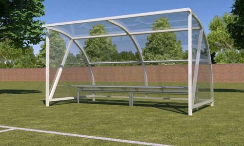 Sport shelter - Shelter inside the stadium