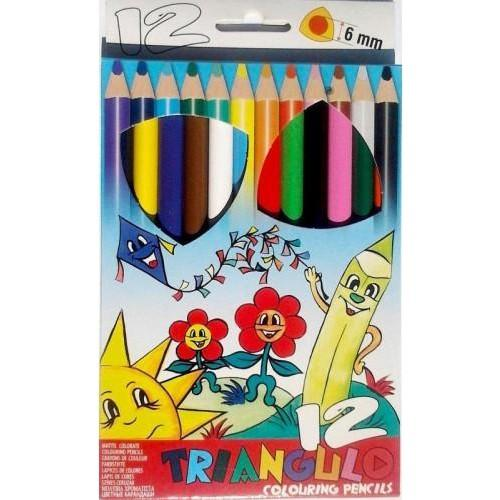 Színes ceruza készlet - Színes ceruzák készletben 6 darabtól 72 darabig