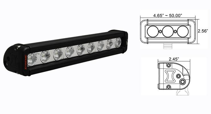 Xmitter Low Profile - Off-Road Lights