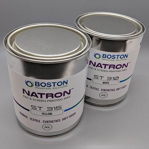 Natron™ ST Soft touch inks - For printing on soft touch, synthetics, nylon, and rubber