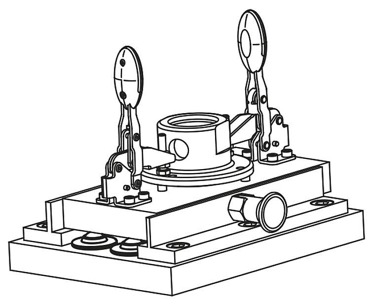Ball transfer units with steel housing and plastic ball - Ball transfer units
