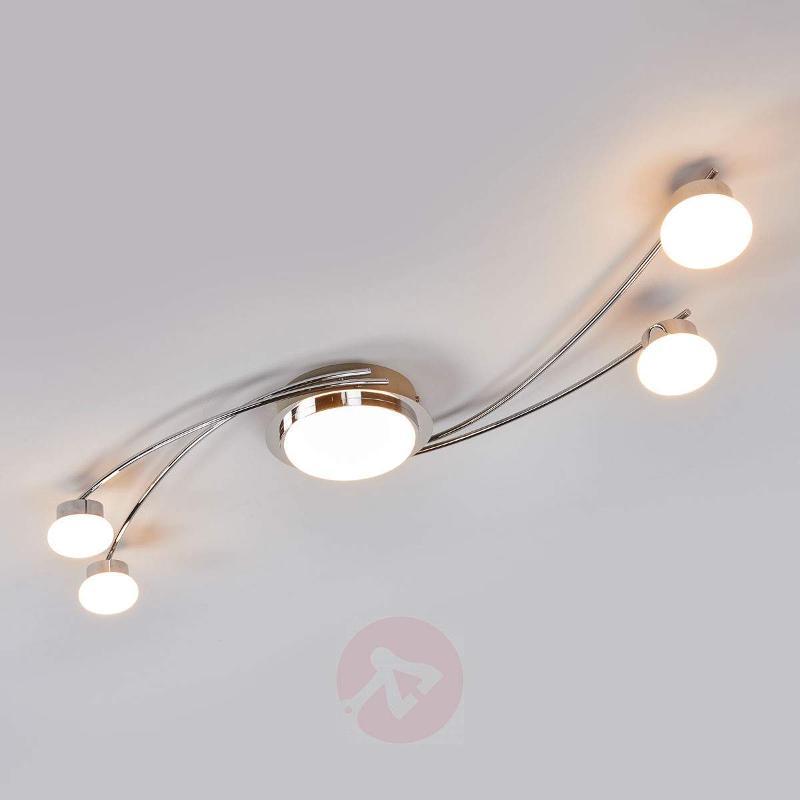 Vitus - LED ceiling lamp in chrome - Ceiling Lights