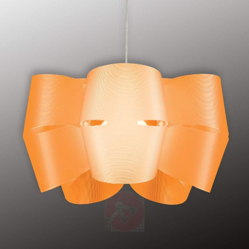 Orange hanging light Mini Alien - Pendant Lighting