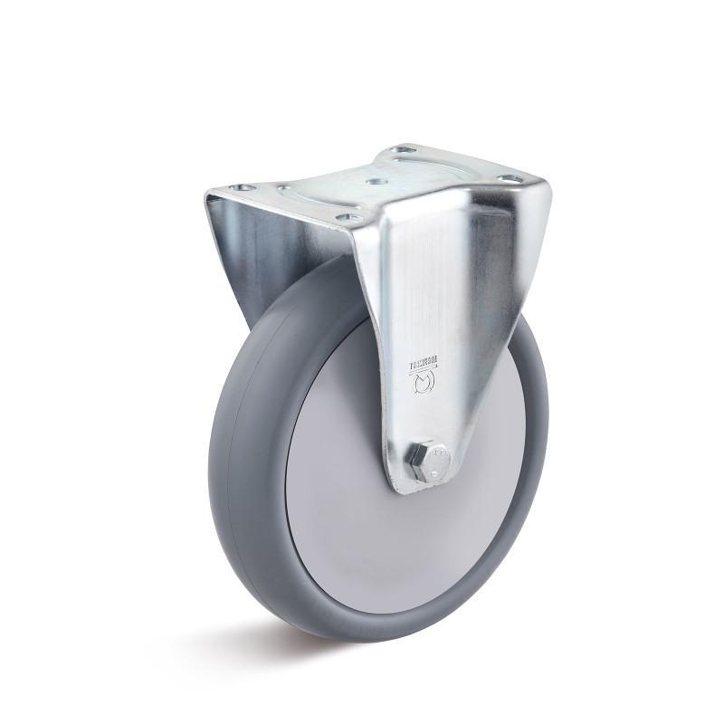 Thermoplast Standard-Rollen bis 220 kg - TPBK Radserie in Standard IL Gehäuse, Stahlblech, verzinkt