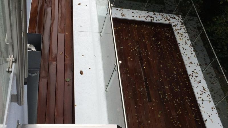 Terrasse en bois - Fixation invisible