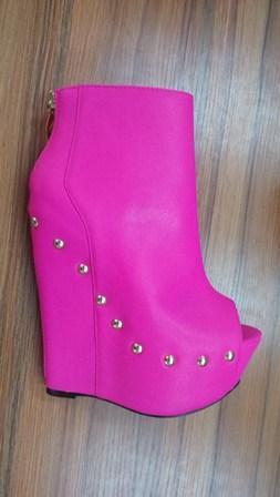 Zapatos de tacón de cuña para mujer - Multicolor / 36-41