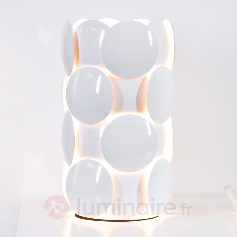 Lampe à poser Status, blanc - Lampes de chevet