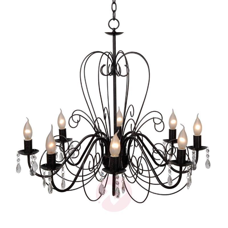 Rusty brown Ravenna chandelier - Chandeliers