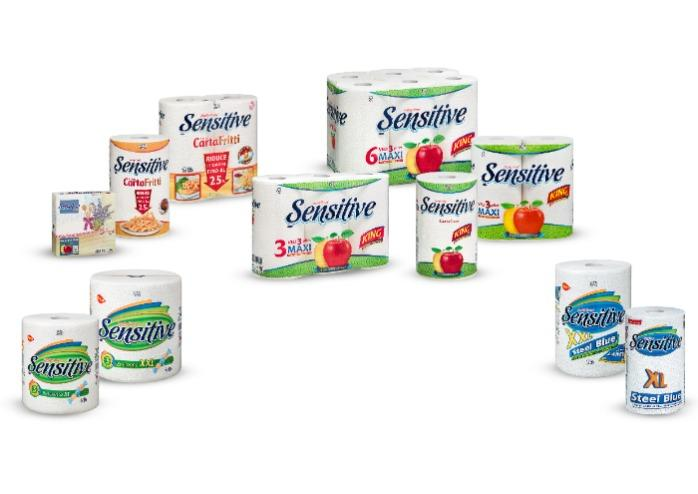 Asciugatutto, panno Carta Sensitive - asciugamano cucina e casa