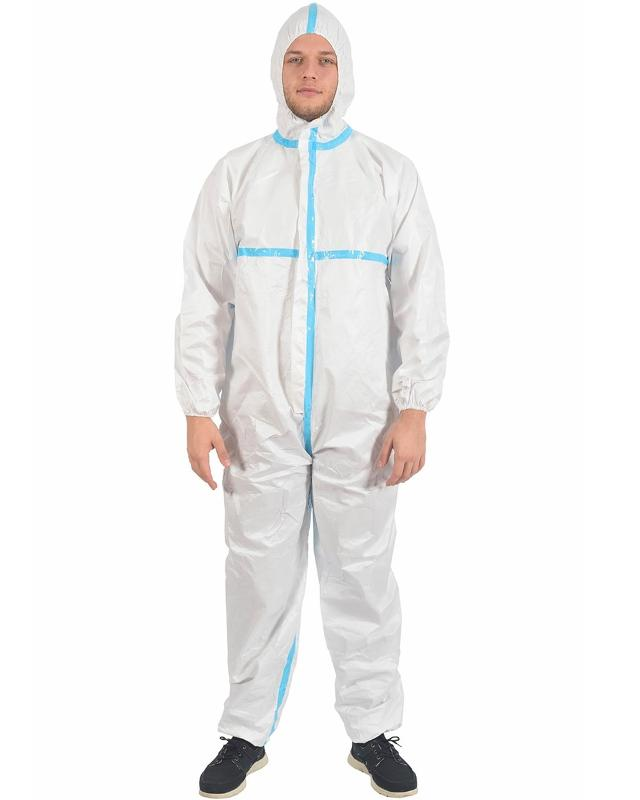 Type 3/4 Protective Coverall - MEDICAL TEXTILE
