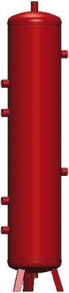 Bouteille de mélange pour circuit de chauffage - null