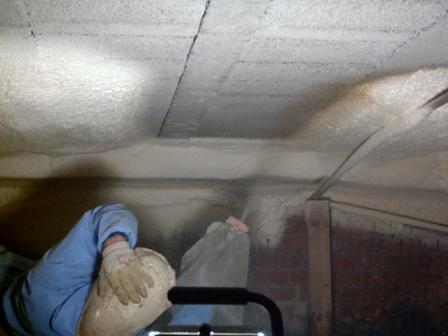 Isolation thermique vide sanitaire et caves