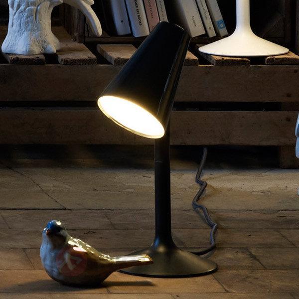 Lampe à poser LED design Piculet, noir - Lampes à poser LED