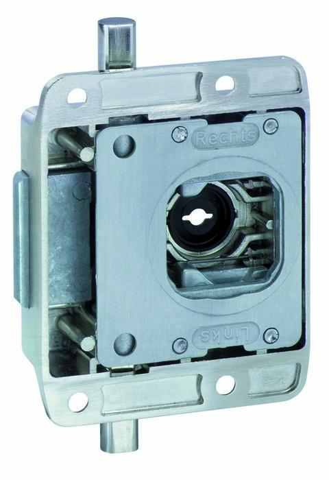 Dead lock - Surface mounted lock