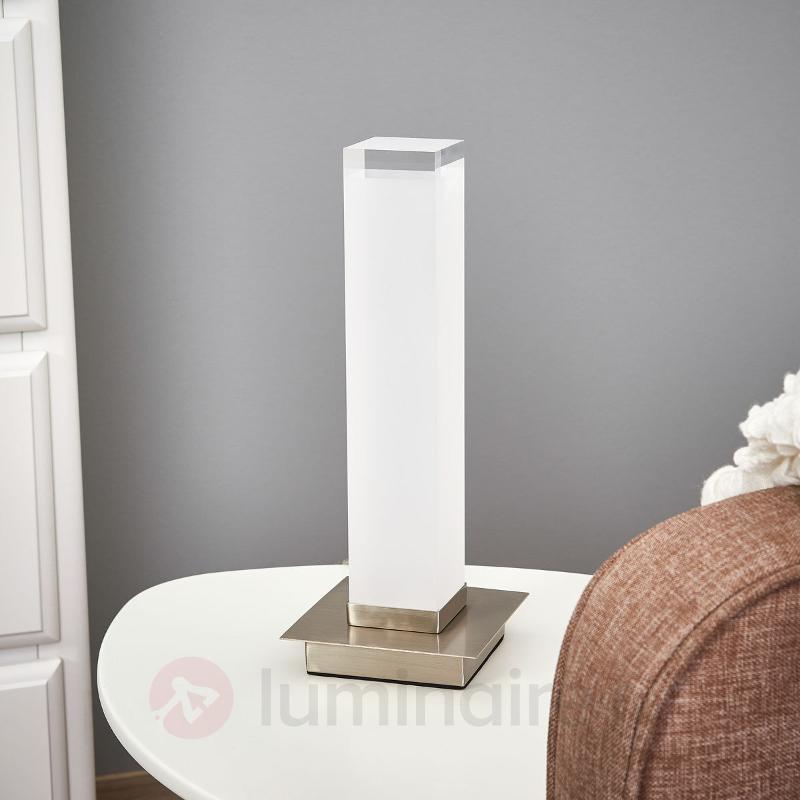 Lampe à poser Forma avec abat-jour en colonne - Lampes à poser LED