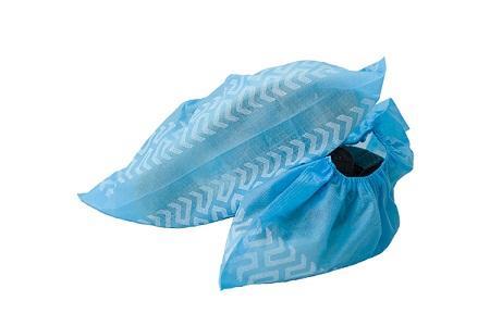 Tapa de zapato de impresión no tejida PP - Estilo: Hecho a máquina Material: PP no tejido Color: Azul / Blanco / Rosa / Ver