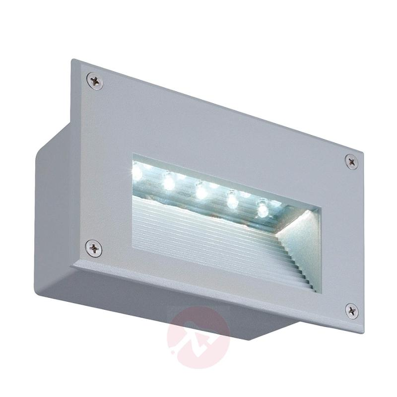 Brick LED Downunder Built-In Wall Light 6500 K - outdoor-led-lights