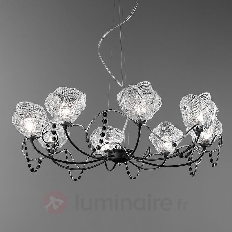 Lustre Gomitoli 75 cm avec cristaux Swarovski - Lustres designs, de style