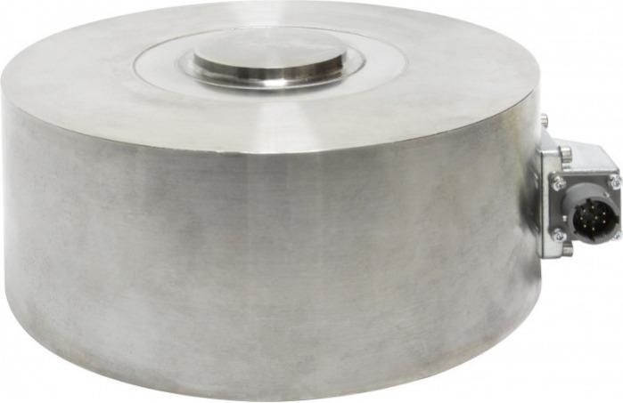 Compression load cell - 8526 - Compact, robust, high performance, for restricted spaces, elded construction,