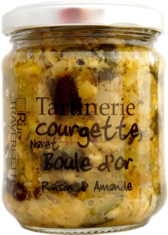 Tartinerie Courgette, navet boule d'or 185g - Epicerie salée