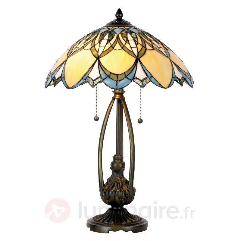 Lampe à poser Poseidon style Tiffany - Lampes à poser style Tiffany