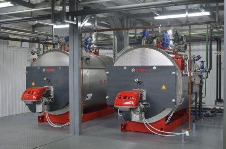 Dampfkessel - Typ U-ND, U-HD - Dampfkessel / Öl / Flammrohr / Niederdruck - Typ U-ND, U-HD