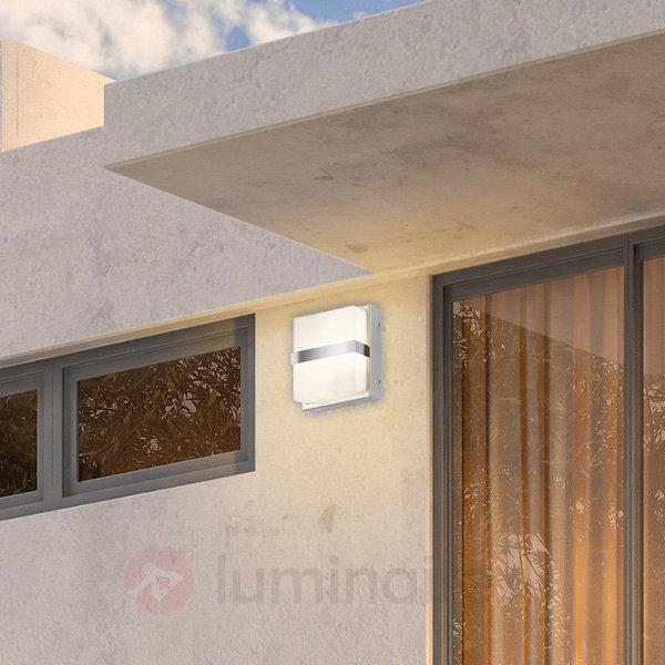 Applique d'extérieur de qualité Quadro avec cache - Appliques d'extérieur inox