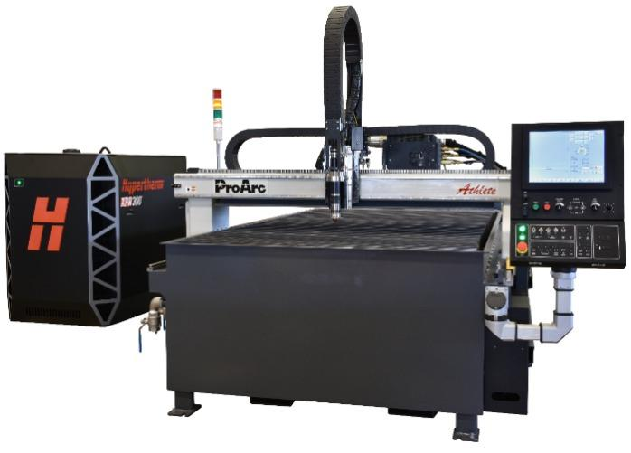 High Performance CNC plasma cutting table - ProArc Athlete series- Table type