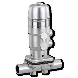 盖米660 - 盖米660是一款气动金属隔膜阀。气动头、压块和内部组件均为不锈钢材质,符合卫生级标准。气动头顶端配有手动定量装置。