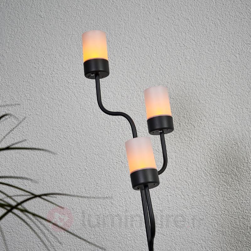 Chandelier solaire Laska avec LED - Lampes solaires décoratives