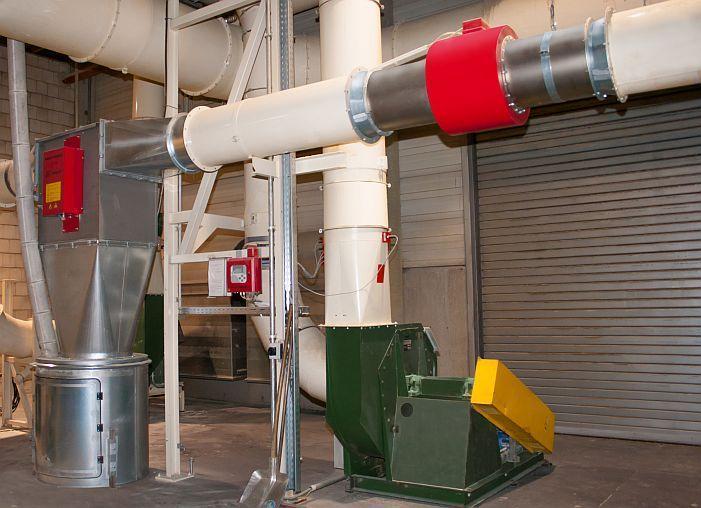 Metal detector for direct Installation into pneumatic fiber - METRON 05 PowerLine