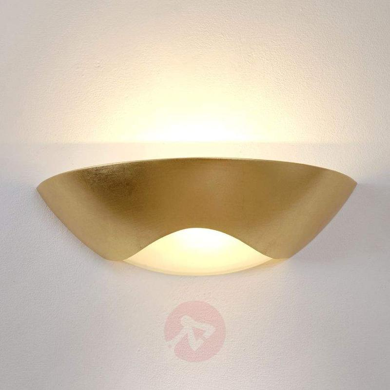 Noble wall lamp Matteo Curve - Wall Washer Lights