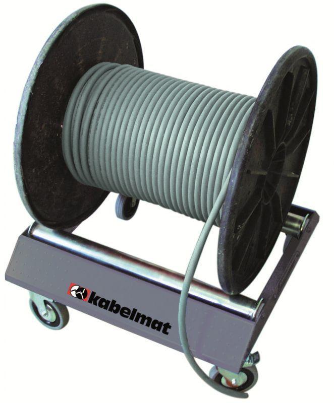 TROMBOI 500 mobile drum unwinder - Mobile drum unwinder from Ø 150 - 700 mm