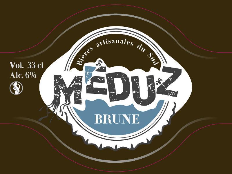 Bière Meduz Brune 33 cl - Boissons