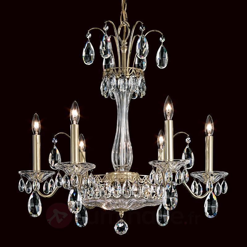 Élégant lustre Fontana Luce - Lustres en cristal
