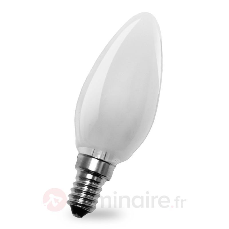 Ampoule flamme E14 4W 827 LED, intérieur mat - Ampoules LED E14