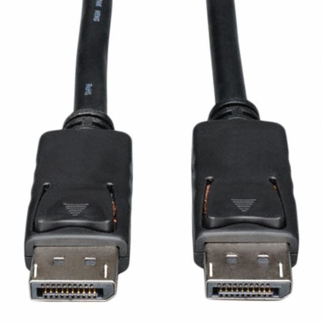 CABLE ASSY DISPLAYPORT W/LATCH - Tripp Lite P580-010
